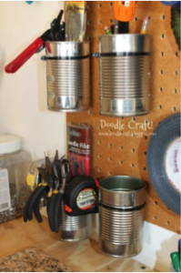 Vegetable Can Storage Idea