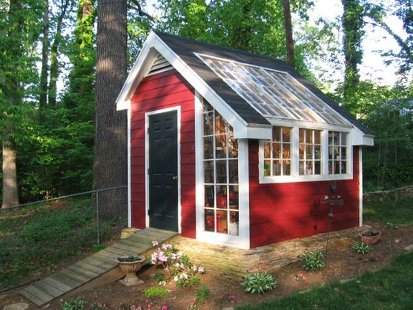 Convert Your Backyard Shed Into A Greenhouse, We Will Give You Some Great  Tips To Make It Your Favorite DIY Project. Greenhouses Are A Fantastic  Addition To ...