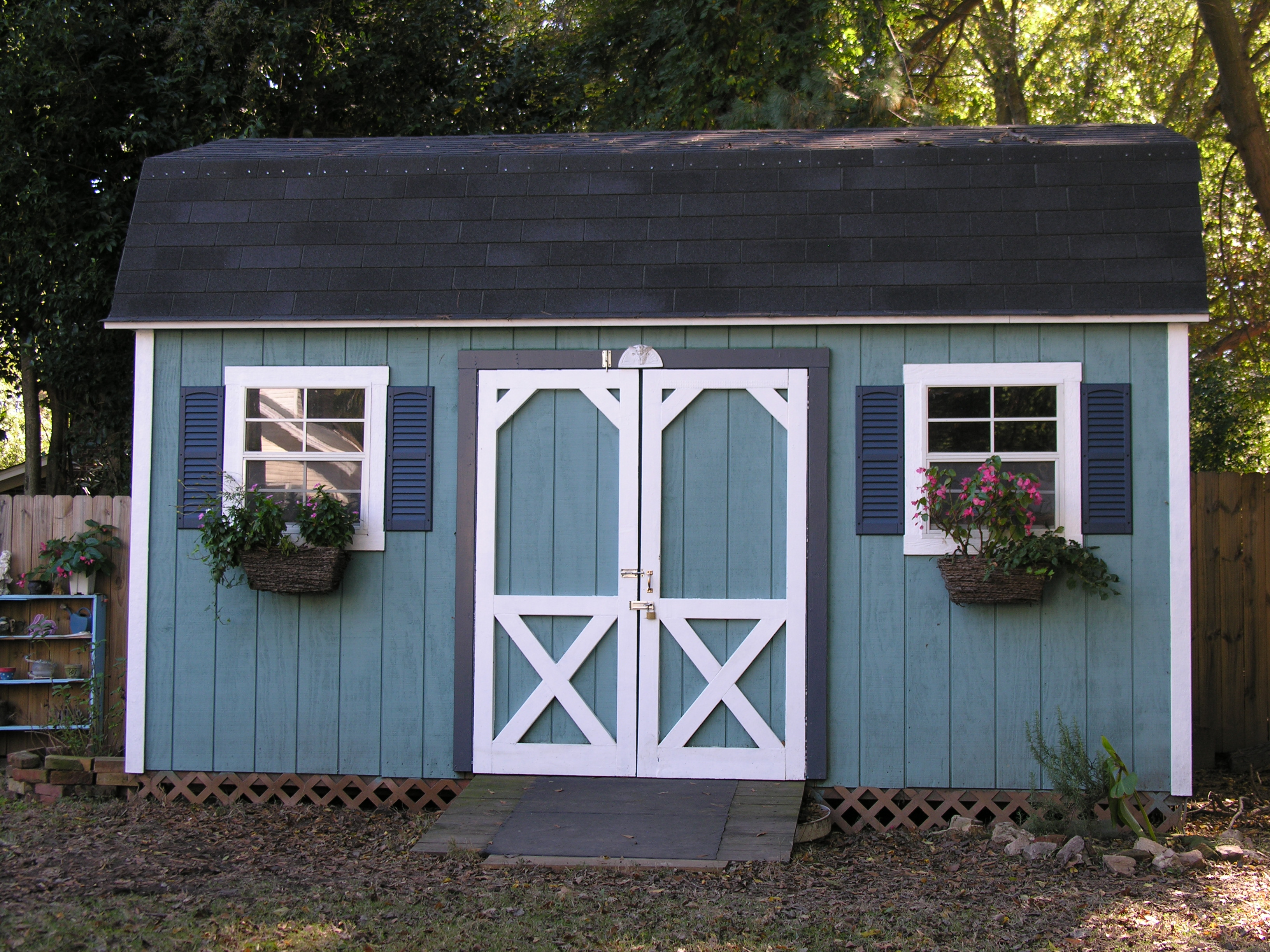 Protecting Your Shed with Gutters | Shed Windows and More